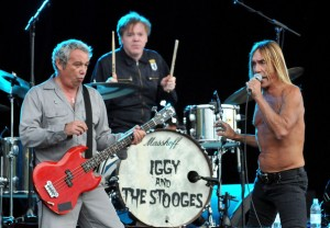 Mike Watt en Iggy Pop