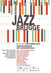 Affiche Jazz Brugge 2014 definitief kopie 2.indd